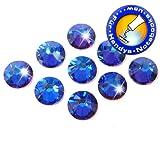 Swarovski Pack of 50Crystal Meridian Blue Elements 2058No Hotfix, SS20(4.8mm) in Diameter, Rhinestones for Bonding