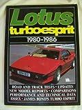 Lotus Turbo Esprit, 1980-86