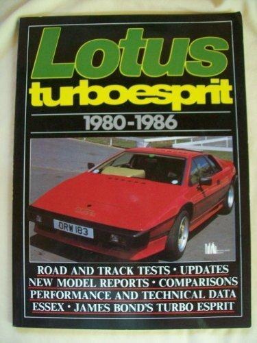 Lotus Turbo Esprit, 1980-86 (Brooklands Books Road Tests Series) Lotus-serie