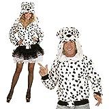 WIDMANN - Kapuzenjacke Dalmatiner für Erwachsene