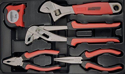 Mannesmann – M29065 – Assortimento di attrezzi per uso domestico in valigetta richiudibile - 2