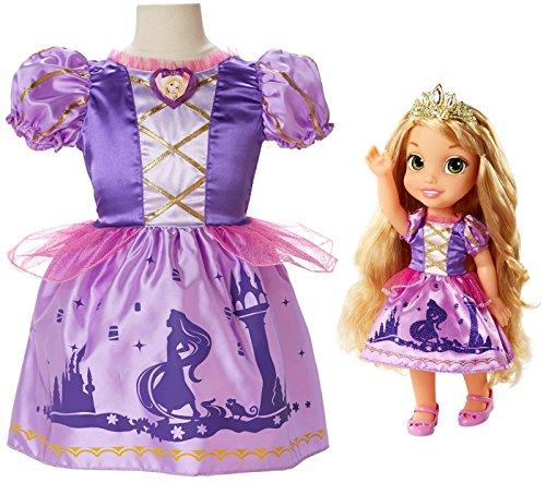 Toddler Rapunzel Kostüm - Disney Princess Rapunzel Toddler Doll & Girl Dress Gift Set by Disney Princess