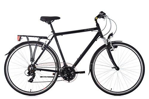 KS Cycling Trekkingrad Herren 28'' Canterbury schwarz RH58cm Aluminiumrahmen Flachlenker