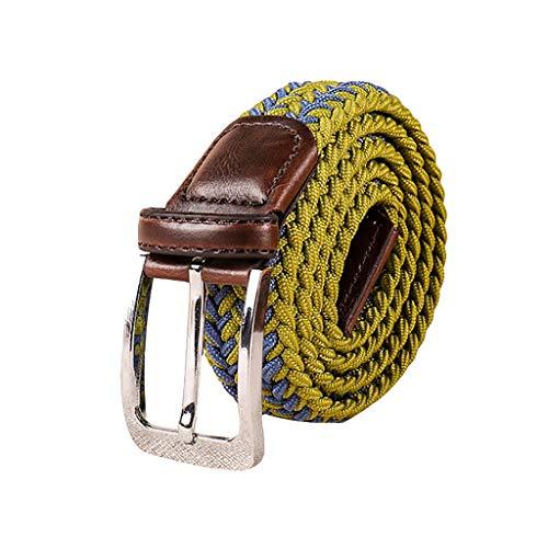 UNMIZ Damen Leder Perlen Gürtel für Jeans Gürtel Gürtel Retro Fashion Gürtel Hüftgürtel Bindegürtel Ledergürtel in vielen Farben für Hosen(F) Tan Rigger Boot