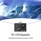 SJCAM SJ5000 WIFI Action Ultra HD Waterproof Underwater Large Screen Wide Angle Sports DV Camcorder, 14MP (Black)