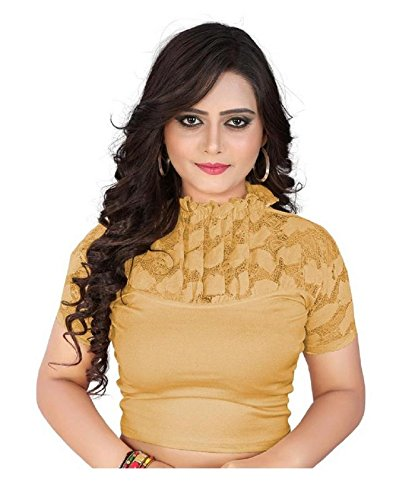 PRE SMART GOLDEN READY MADE STRATCHABLE STITCHED BLOUSES