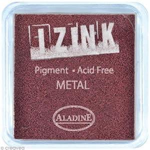 Aladine - 19124 - Papelería - Inker Izink Metal - Marrón