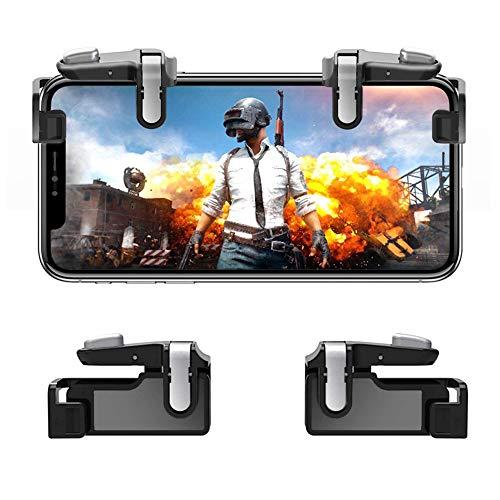 Mobile Controller Hill & Wood Sensitive Shoot and Aim Trigger für L1R1 Mobile Game Trigger Joystick für Android ()
