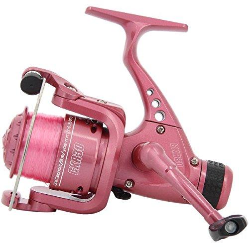 NGT–Unisex FRL CKR30carrete de pesca con línea 8LB grueso en, color rosa, talla única