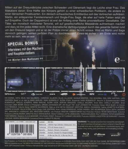 Die Brücke - Transit in den Tod - Staffel 1 [Blu-ray]: Alle Infos bei Amazon