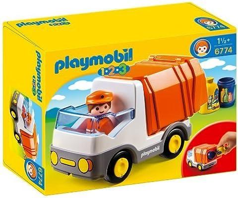 Playmobil 1.2.3 6774 123 Recycling Truck by Playmobil