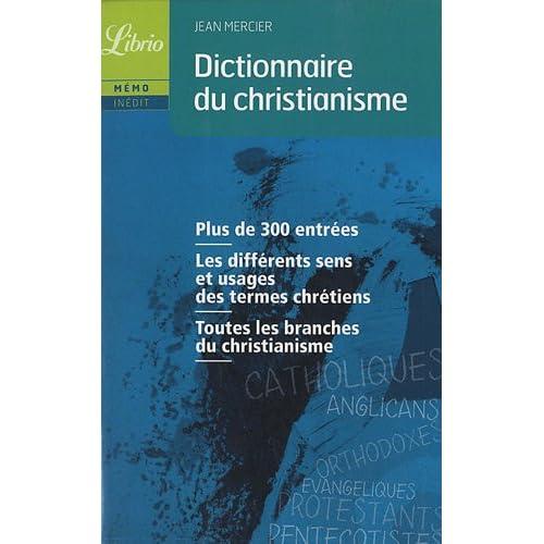 Dictionnaire du christianisme