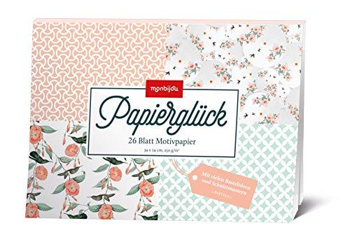 Papierglück - Design Pastell: Motivpapier (monbijou) -