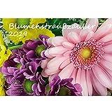 Blumenstraußzauber · DIN A3 · Premium Kalender 2019 · Blumenstrauß · Rose · Valentinstag · Blume · Schmetterling · Natur · Botanik · Geschenk-Set 1 Grußkarte 1 Weihnachtskarte · Edition Seelenzauber