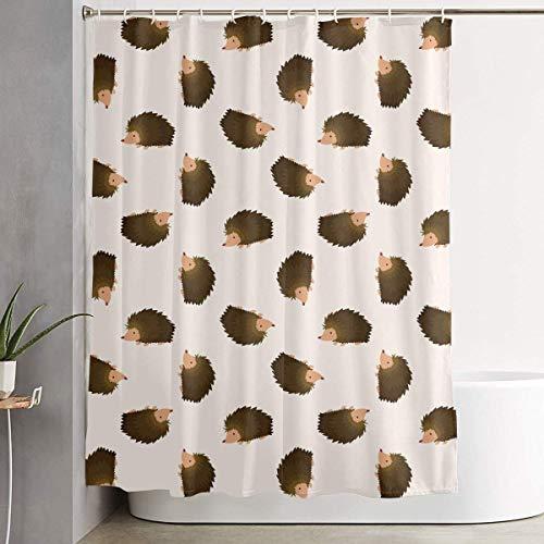 Setyserytu Duschvorhang,Luxurious Hedgehog WaterRepellent Fabric Shower Curtain Bath Curtains Bathroom Decoration Home Decor 60x70 Inch Betsey Johnson Zebra
