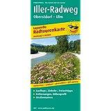 Iller-Radweg: Leporello Radtourenkarte mit Ausflugszielen, Einkehr- & Freizeittipps, wetterfest, reissfest, abwischbar, GPS-genau. 1:50000