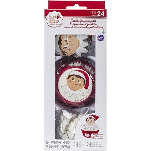 Get Wilton Cupcake Decorating Kit Makes 24-Elf On The Shelf,  Other,  Multicoloured Review