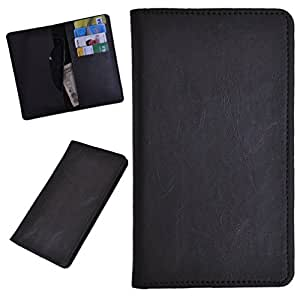 DCR Pu Leather case cover for Lava 405+ (grey)