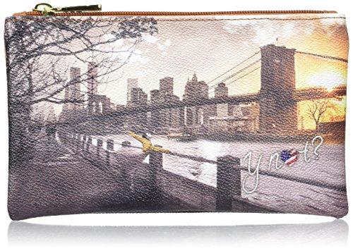 Ynot Damen I-341 Taschenorganizer, 20x12x1 cm Mehrfarbig (Fame In New York)