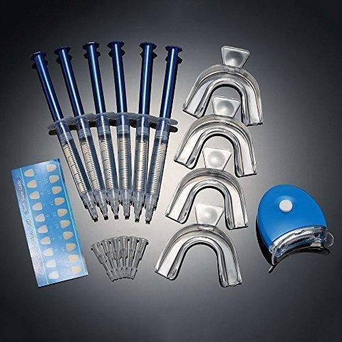 Dental-zähne Bleichen (G-Smart-Zahnweiß -Kit. Pro Home Tooth Dental Care Weiß 6x GEL Bleaching Kit Advanced Light Whitener)