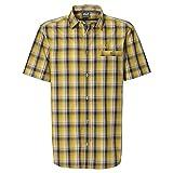 Jack Wolfskin Herren Springfield OC Shirt XXL Dark Sulphur Checks