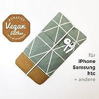 iPhone-Tasche Sage / Handytasche / Smartphone Case / Vegane Handytasche / Vegane Accessoires / Geschenk für sie / Weihnachtsgeschenk
