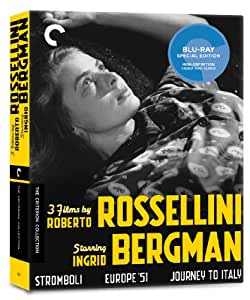 Criterion Collection: 3 Films By Roberto Rossellin [Blu-ray] [1954] [US Import]