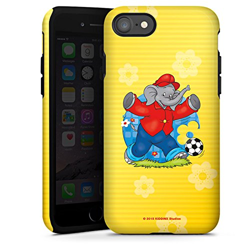 Apple iPhone X Silikon Hülle Case Schutzhülle Benjamin Blümchen Fanartikel Merchandise Fussballstar Tough Case glänzend