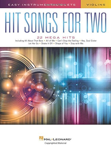Hit Songs for Two Violins: Easy Instrumental Duets