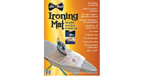 13-1//2 by 10-Inch Bo-Nash Ironing Mat with Icflon Non-Stick Surface