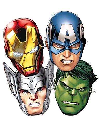 Los Vengadores - 6 caretas superheroes