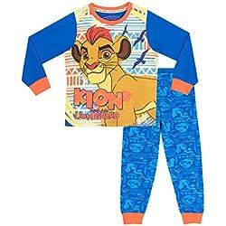 Disney Pijama para Niños y niñas La Garde du Roi Lion Azul