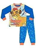 Disney Jungen Die Garde der Löwen Schlafanzug Blau 116