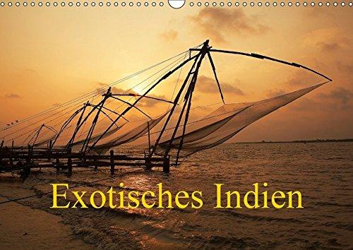 Exotisches Indien (Wandkalender 2018 DIN A3 quer): Indien in Kultur und Landschaft (Monatskalender, 14 Seiten )