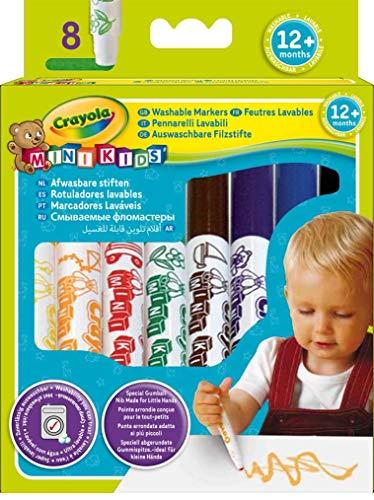 Crayola 03.8324R - 8 Erste Filzstifte