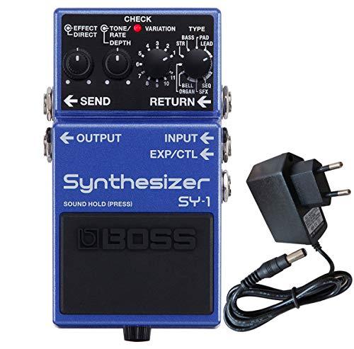 Boss SY-1 Synthesizer Effektgerät für Gitarre u Bass + keepdrum Netzteil