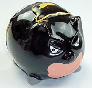 Batte Tirelire Cochon Tirelire, cochon en porcelaine super héros Batman