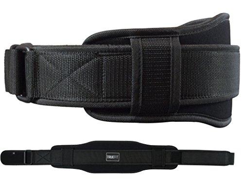 Pro Gewichthebergürtel für Männer und Frauen | verwendet für Gewichtheben, Power Lifting & Krafttraining-Bauch und unteren Rücken Support | Fitness Gear für die Best, schwarz - Bauch-support Rücken-und
