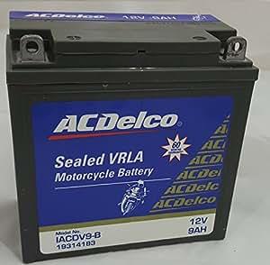 ACDelco 9 AH AH Bike Battery- 5 Years Warranty for Honda, Hero