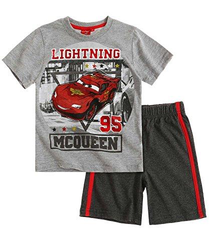 Disney Cars Chicos Conjunto camiseta y pantalón corto 2016 Collection - Gris