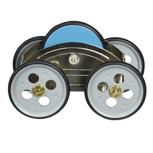Mechanisches Spielzeug ZECAR - mit Schwungrad-Antrieb ( farblich sortiert ) - Schwungrad-auto