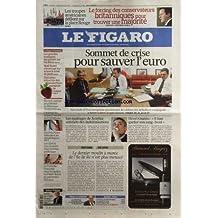 FIGARO (LE) [No 20455] du 09/05/2010 - LES TROUPES AMERICAINES DEFILENT SUR LA PLACE ROUGE -SOMMET DE CRISE POUR SAUVER L'EURO -LES NAUFRAGES DE XYNTHIA SATISFAITS DES INDEMNISATIONS -HENRI GUAINO / IL FAUT GARDER SON SANG-FROID -LE DERNIER MOULIN A MAREE DE L'ILE DE RE N'EST PLUS MENACE -HUBERT VEDRINE / L'INVITE -DES PRIX NOBEL DEFENDENT LES CLIMATOLOGUES -ELECTION CAPITALE POUR MERKEL EN THENANIE-WESTPHALIE -