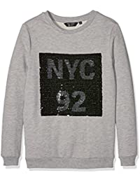 New Look Nyc Magic Sequin, Sweat-Shirt Fille