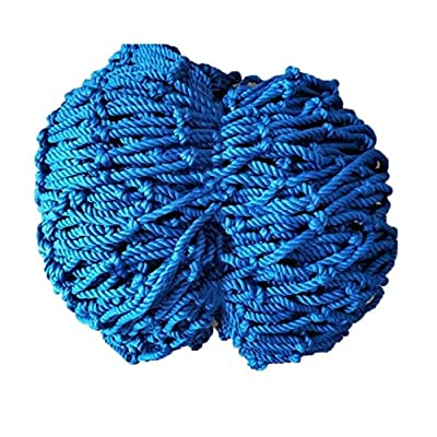 Child Safety Net, Nylon Rope Net Blue Balcony Obstacle Net Stair Anti-fall Net Garden Decoration Net Playground Fence Net Kindergarten Rope Net Can Be Cut 1x2m3m4m (Size : 10 * 10M(33 * 33ft))