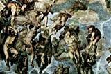 Poster Foundry Michelangelo The Last Judgment Fresco