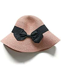 Sombrero De Dama Pescador Sombrero De Paja Arco Protector Solar Sombrero  para El Sol 44c6a9e9ccc