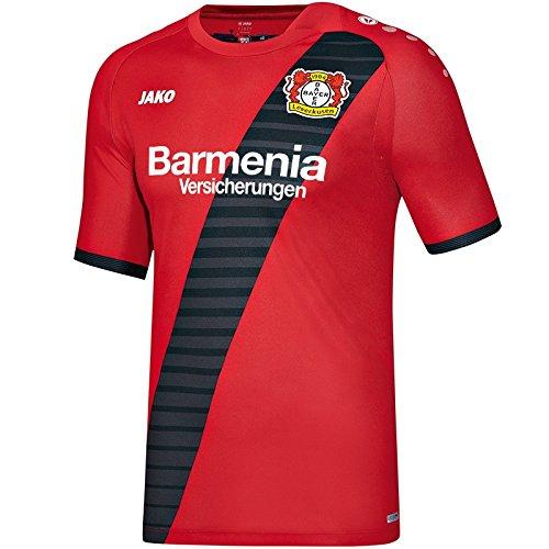 Jako Bayer Leverkusen Trikot Auswärts 2016/2017 rot rot/schwarz, 3XL