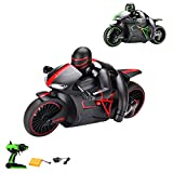 RC ferngesteuertes Motorrad, 2.4GHz 1:18 Modell, Ready-To-Drive, Inkl. Fernsteuerung, Akku und Ladegerät