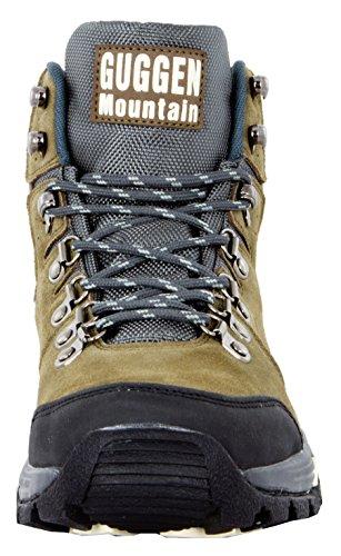 GUGGEN MOUNTAIN Scarpe da escursionismo Scarpe da trekking Scarpe da montagna Mountain Shoe uomo Marrone