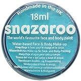 Snazaroo pittura classica per viso e corpo Par, 18ml, colore individuale, Albicocca-Turchese-